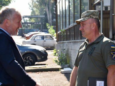 Командувач ООС обговорив безпекову ситуацію із заступником Голови ОБСЄ в Україні