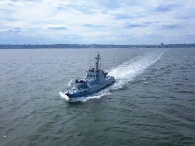Українські військові моряки провели комплексне тактичне навчання з оборони узбережжя Азовського моря