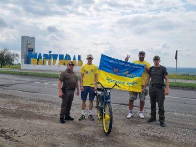 Містами Луганщини і Донеччини пройшов мотопробіг, присвячений Дню Незалежності України