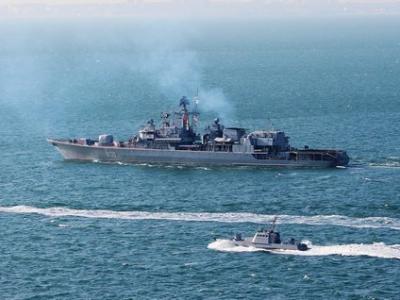 Чи є кораблі НАТО в Азовському морі?