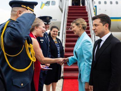 Президент України прибув з робочим візитом до Вашингтона