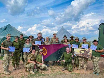 Завершилась підготовка офіцерського та сержантського складу медичної служби окремої мотопіхотної бригади