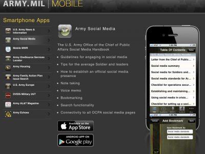 Які мобільні додатки розроблені для військовослужбовців США, Франції та Польщі