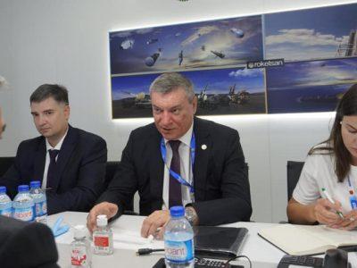Олег Уруський обговорив з Президентом Турецького космічного агентства перспективи співпраці у космічній сфері
