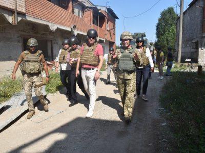 Естонська делегація відвідала район проведення операції Об'єднаних сил