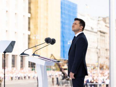 Глава держави взяв участь у святковому Параді військ з нагоди 30-ї річниці незалежності України