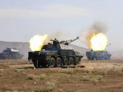 Agile Spirit 2021: українські та грузинські військові відбили атаку умовного противника та здійснили контрнаступ