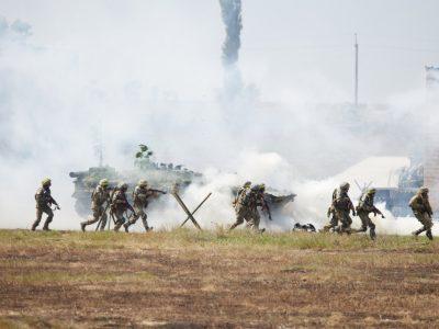 Працюють «Урагани», «Гради», «Буки», С-300: на Миколаївщині розпочалося масштабне командно-штабне тренування