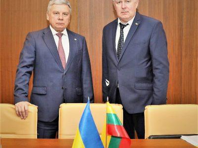 «Україна і Литва поглиблять співробітництво з питань бойової підготовки, консультативно-дорадчої допомоги, військової освіти та кібербезпеки», – Андрій Таран