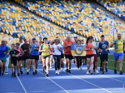 На НСК «Олімпійський» відбулися тренування захисників України та членів їхніх сімей з видатними спортсменками