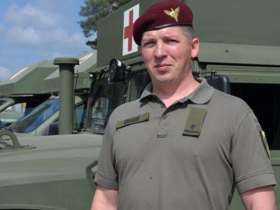 «На початку серпня 2014-го ми рятували рекордну кількість поранених» — начмед 25-ї повітрянодесантної бригади