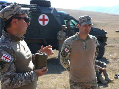 Продовжується підготовка українських морських піхотинців у межах багатонаціонального навчання Agile Spirit – 2021