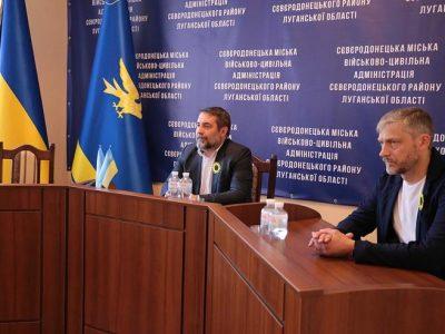 Голова Луганської ОДА анонсував відкриття двох оновлених ветеран-хабів та Алеї Слави