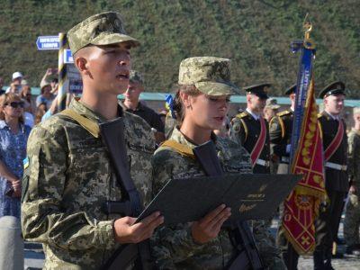 Курсанти Військового інституту телекомунікацій та інформатизації присягнули на вірність українському народові