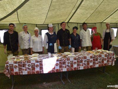 У районі проведення ООС визначили найкращих військових кухарів