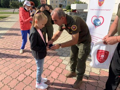 «Батьківське серце» вручили дітям загиблих військових