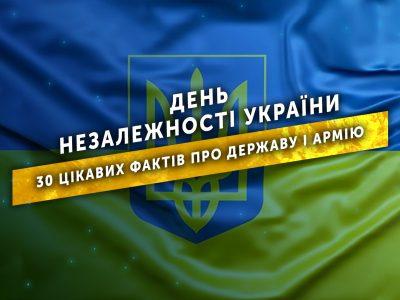 День Незалежності України: 30 цікавих фактів про державу і армію