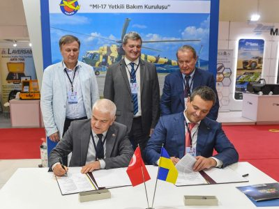 ДК «Укроборонпром» створить ремонтну базу для вертольотів у Туреччині