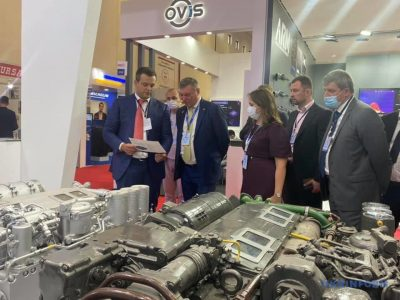 Майже півтора десятка підприємств представляють Україну на Міжнародній виставці оборонної промисловості IDEF-2021 у Стамбулі