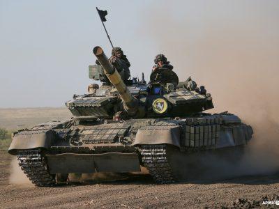 Водіння танків у особливих умовах