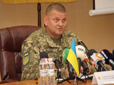 Головнокомандувач ЗС України розповів про сценарій масштабних навчань «Об'єднані зусилля – 2021»