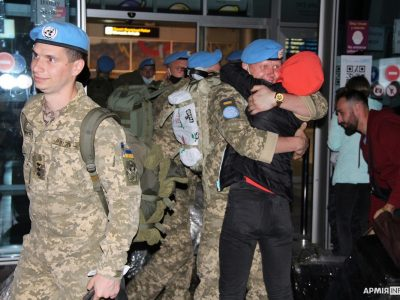 З Конго повернулися понад 150 українських миротворців