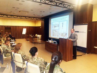 Питання взаємодії ЗСУ зі ЗМІ та гендерної рівності обговорили під час семінару ОБСЄ у Харкові