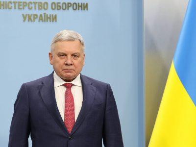 Привітання Міністра оборони України Андрія Тарана з Днем танкістів