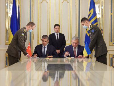 Україна й Туреччина підписали Меморандум щодо будівництва спільного навчально-випробувального центру з експлуатації безпілотників