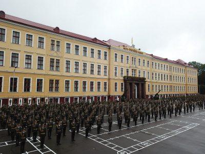 Львівські курсанти та ліцеїсти урочисто розпочали новий навчальний рік