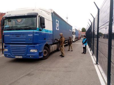 Через КПВВ «Щастя» жителям окупованої частини Луганщини доставлено ще понад 200 тонн гуманітарного вантажу