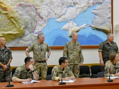 На базі Командування об'єднаних сил ЗСУ відбувається курс підготовки офіцерів за стандартами НАТО
