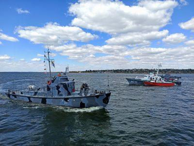 У ВМС ЗС України пройшли навчання з охорони пунктів базування