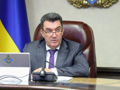 Секретар Ради нацбезпеки і оборони України провів зустріч зі слухачами курсу вищого керівного складу стратегічного рівня (L-4) НУОУ