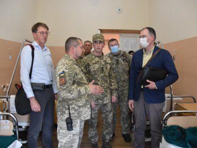 Делегація Європейської служби зовнішніх справ відвідала район проведення ООС