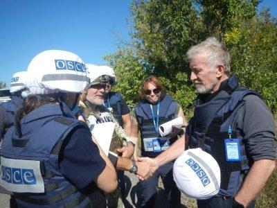 Відбулась зустріч представників української сторони СЦКК та ОБСЄ