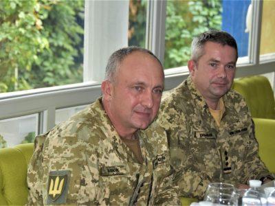 Командувач об'єднаних сил зустрівся з координаторкою системи ООН в Україні