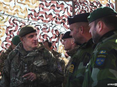«Об'єднані зусилля – 2021»: спільно діють українські, британські та шведські військові