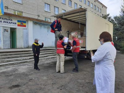 До Донецької та Луганської областей Швейцарія доправила понад дві тисячі тонн гуманітарної допомоги
