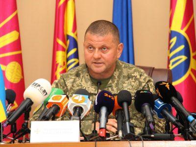 Головнокомандувач ЗС України розповів, скільки російських військ поблизу України