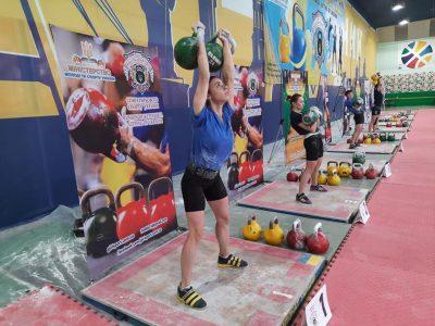 За участю ветеранів у Києві відбувся відбірковий чемпіонат України з гирьового спорту