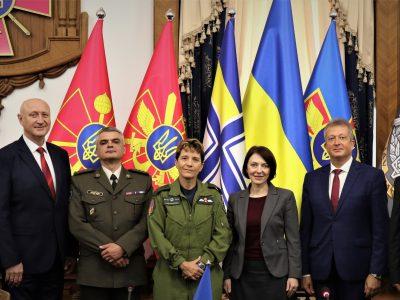 Представники Міноборони України та Збройних сил Канади обговорили питання співробітництва у галузі управління персоналом та розбудови ЗСУ