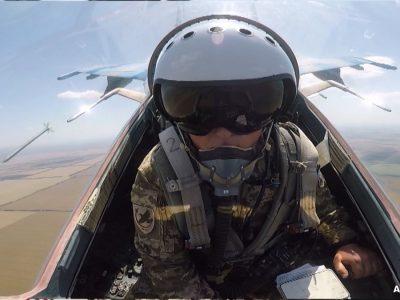 Уперше льотчики-винищувачі виконали мінування ділянок місцевості з повітря