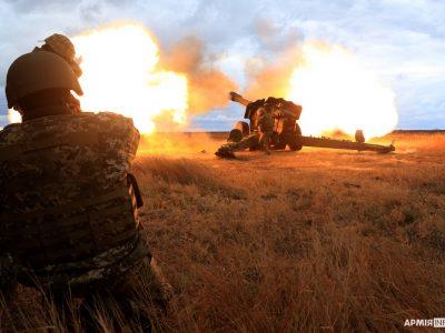 На полігоні Ягорлик підрозділи протиповітряної оборони провели бойові стрільби