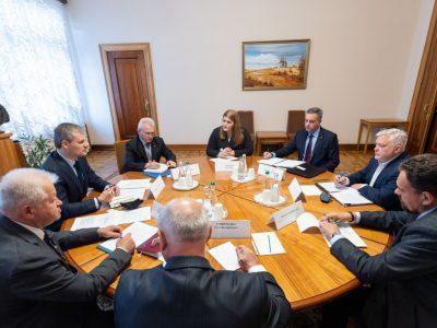 Перспективи оборонної співпраці обговорив Роман Машовець з канадською дорадчою групою