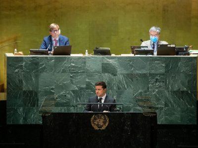 15 тисяч загиблих – ось вам ціна свободи, ось вам ціна незалежності – Президент України під час виступу в ООН