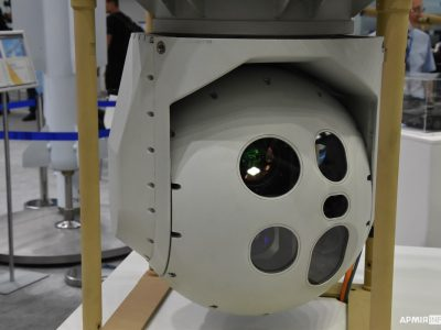Модернізована оптико-прицільна станція підвищує точність наведення ракети