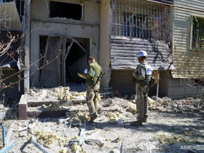 Внаслідок ворожого обстрілу пошкоджено декілька житлових будинків у селі Кряківка