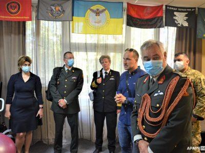 Українські військові поїдуть на лікування й реабілітацію до Нідерландів