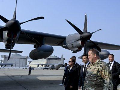 Президент України відвідав авіабазу Національної гвардії Каліфорнії